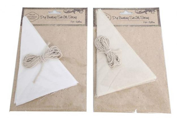 Make Your Own Linen Bunting