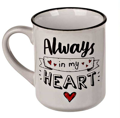 Heart Motto Mug