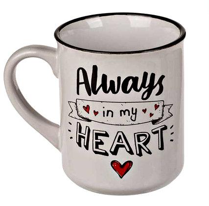 Heart Motto Mug