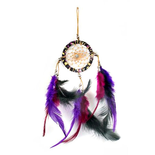 Pink Purple Black Dreamcatcher
