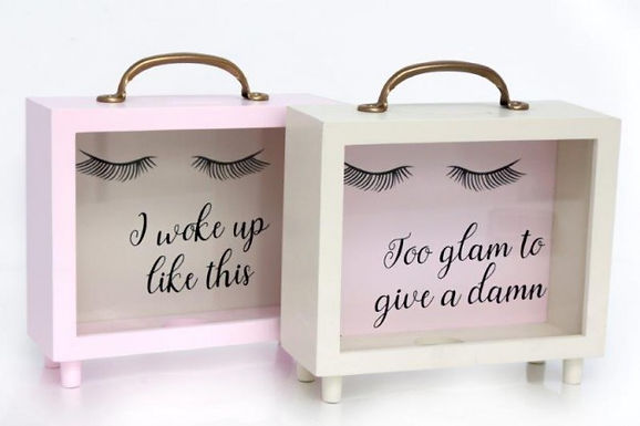Eyelash Money Box