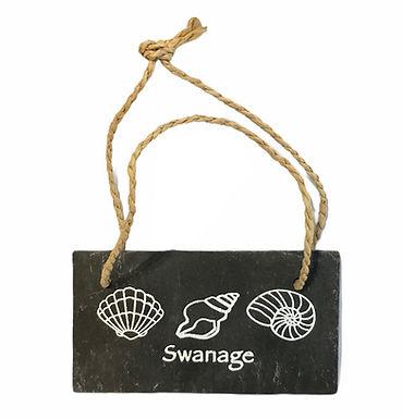 Slate Swanage Hanger