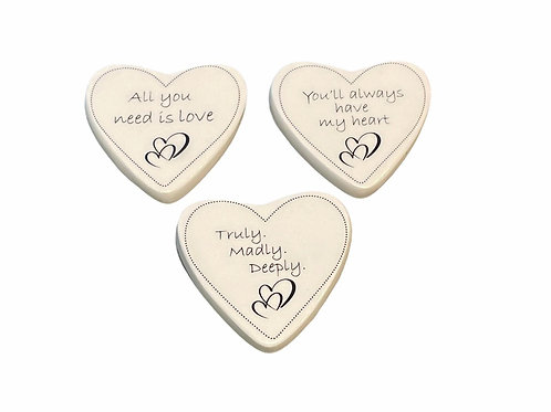 Ceramic Heart Token