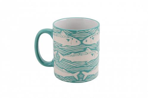 Fish Design Mug