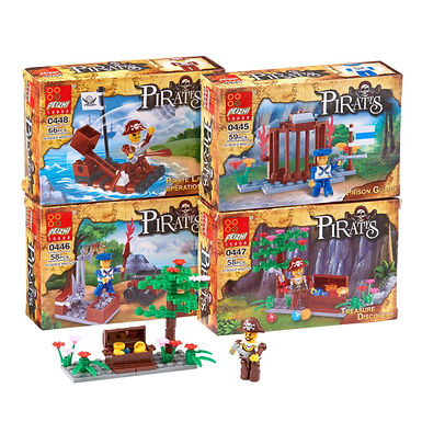 Pirate Building Block Set