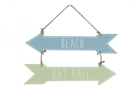 Beach Rat Race Sign