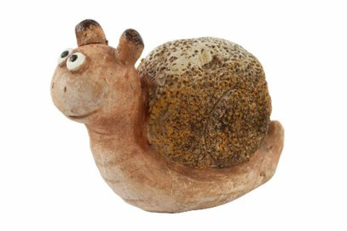 Ceramic Rustic Snail
