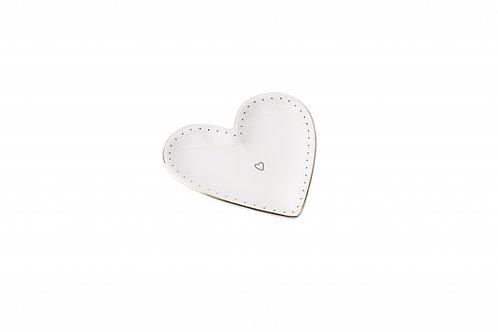 Mini Ceramic Heart Dish