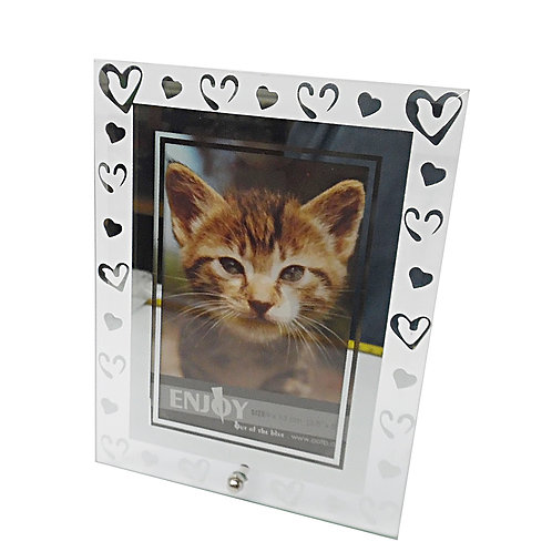 Glass Hearts Frame
