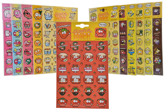 Scratch 'n' Sniff Stickers