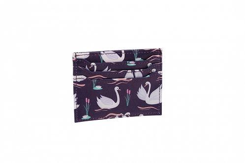 Wallet Card Holder Swan
