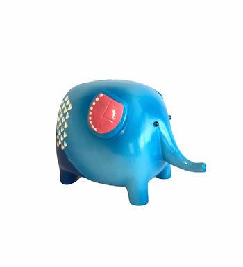 Ceramic Elephant Money Box