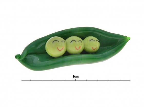 Glass Peas in a Pod