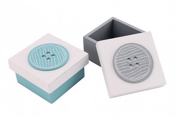 Wooden Button Box