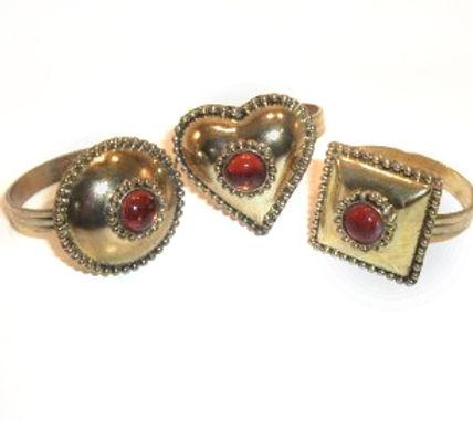 Brass Metal Napkin Ring