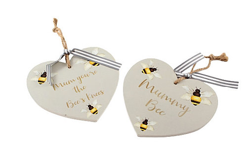 Bee Motto Mum Heart