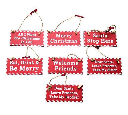 Christmas Plaque Hanger
