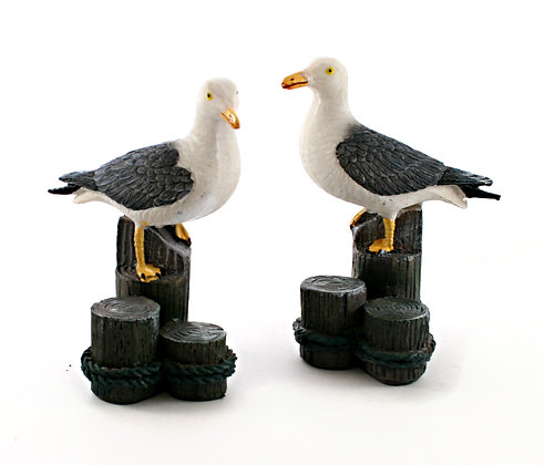 Resin Seagull on Posts