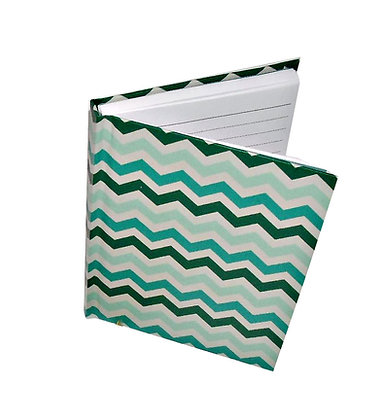 Teal Chevron Notebook