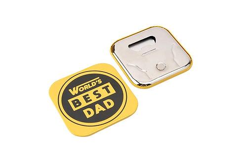Dad Coaster Bottle Opener
