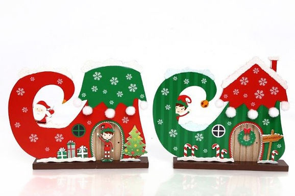 Christmas Elf Boot Ornament