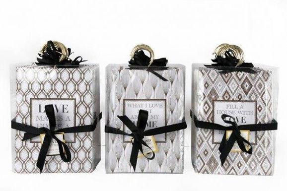 Geometic Design Fragrance Sachet