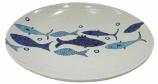 Oval Fish Design Plate