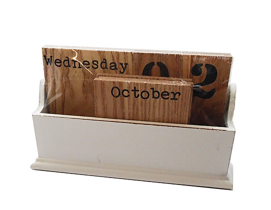 Wood Tile Calendar