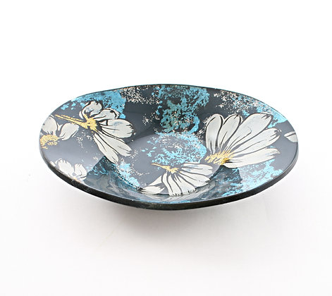 Oval Painted Dish