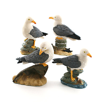 Resin Seagull Ornament