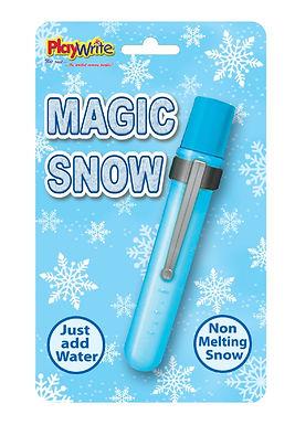 Magic Snow in Test Tube