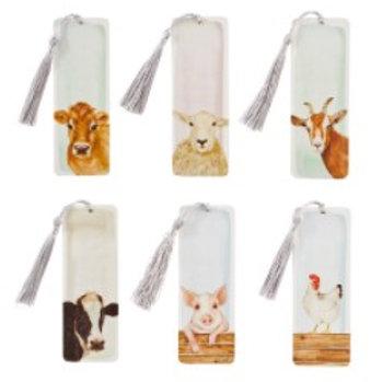 Farm Animals Bookmark