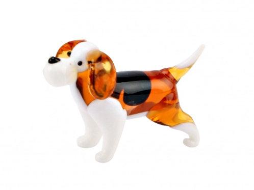 Glass Beagle Dog