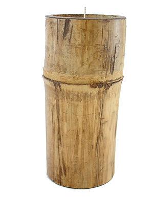 Bamboo Candle Large