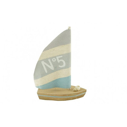 Small Wood & Canvas Boat