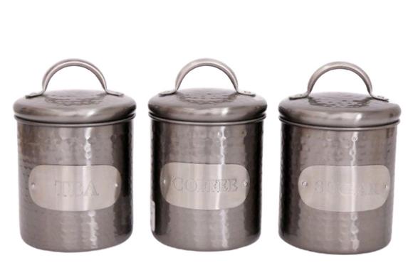 Pewter Storage Jar
