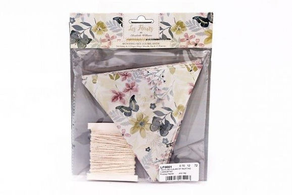 Make Your Own Floral Bunting