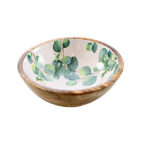Wooden Eucalyptus Bowl