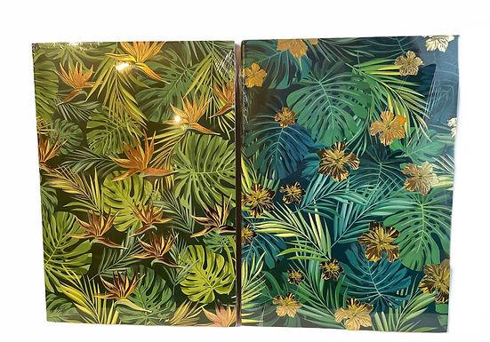 Gold Leaf Notepad