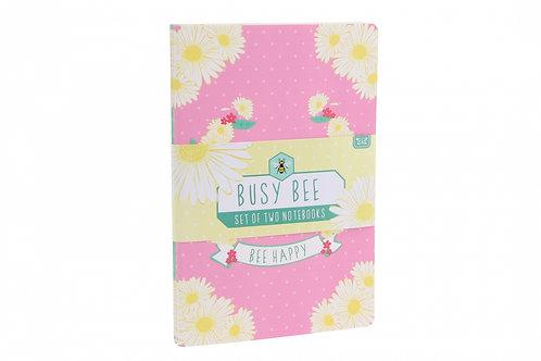 Set of 2 Bee Notebooks