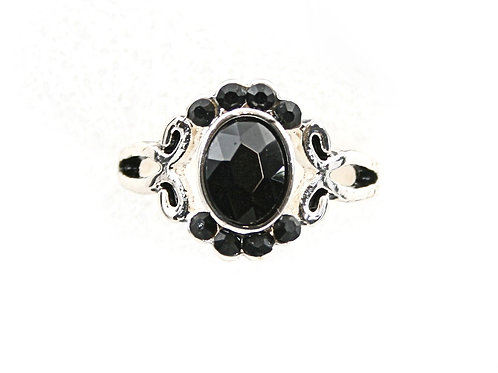 Black & Silver Ring