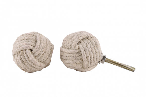 Rope Knot Drawer Pull