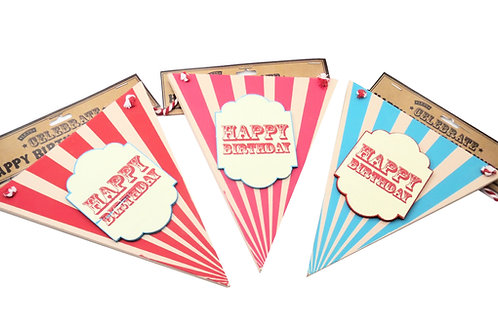 Wooden Bunting Plaque