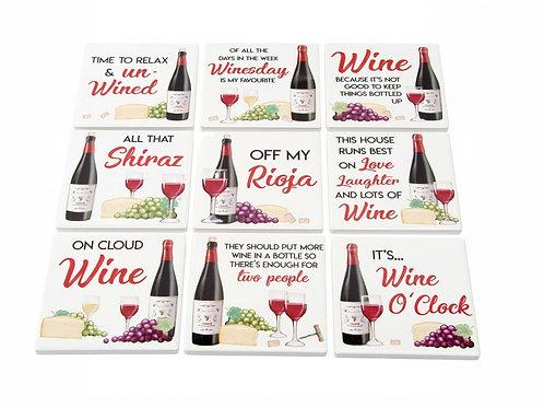Ceramic Wine Coaster