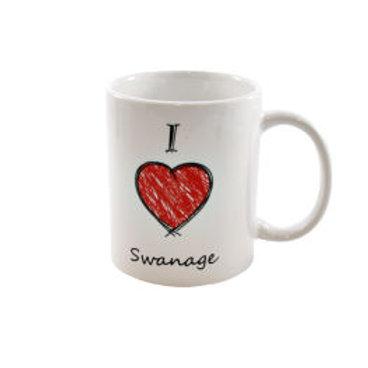 I Love Swanage Mug