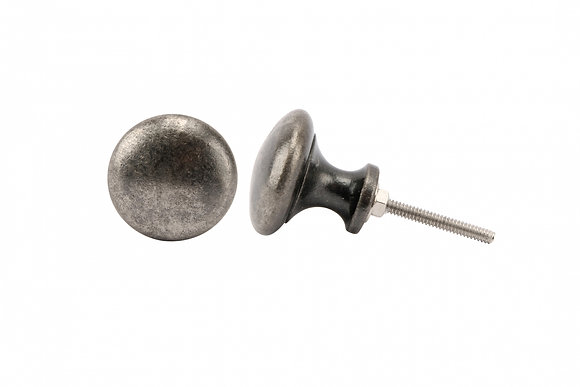 Hammered Metal Drawer Pull