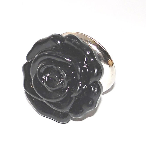 Small Acrylic Rose Drawer Pull