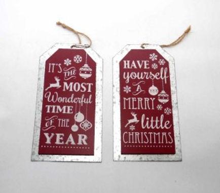 Christmas Motto Plaque