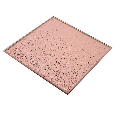 Rose Gold Glitter Coaster