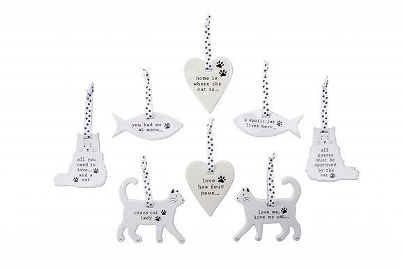 Ceramic Cat Hanger